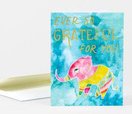 Ever So Grateful for You Elephant