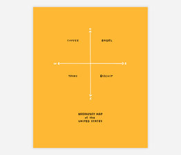 Breakfast Map (Yellow)