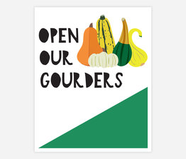 Open Our Gourders