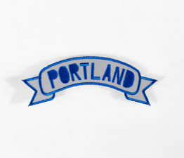 Portland Banner (Blue & Gray)