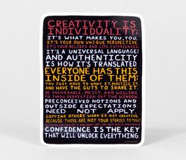Creativity is Individuality