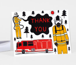 Fire Fighter Thank You