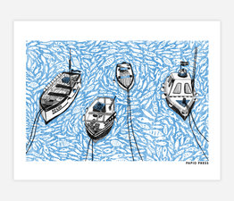 Boats on the Harbour