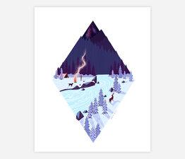 Moonlit Camping