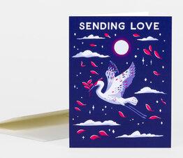 Sending Love Crane