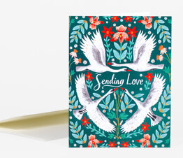 Sending Love Swans
