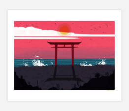 Torii by the Sea