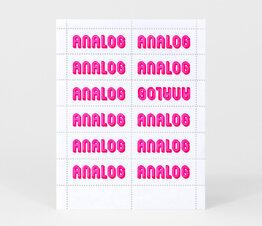 Analog (Hot Pink)