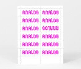 Analog (Purple)