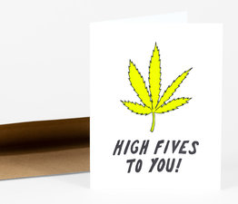 Weed High Five