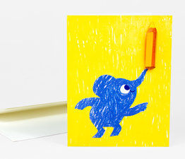 Elephant Balancing Pencil
