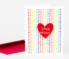 Love Wins (Rainbow Pride)