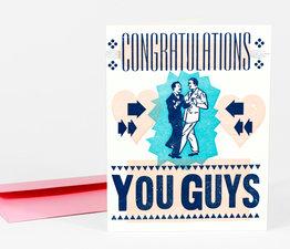 Congratulations You Guys (Pink)