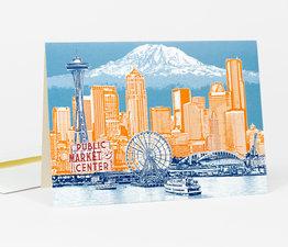 Seattle to Mt. Rainier