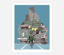 The Unipiper Cycles Through Portland
