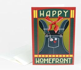 Happy Homefront Overalls
