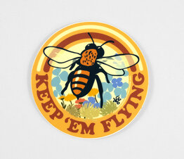 Keep 'Em Flying Bee