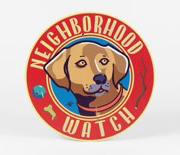 Neighborhood Watch: Brown Dog