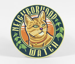 Neighborhood Watch: Orange Cat