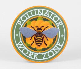 Pollinator Work Zone Honey Bee